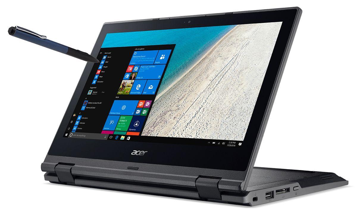 Notebook Acer TravelMate B118-M-P23V Black