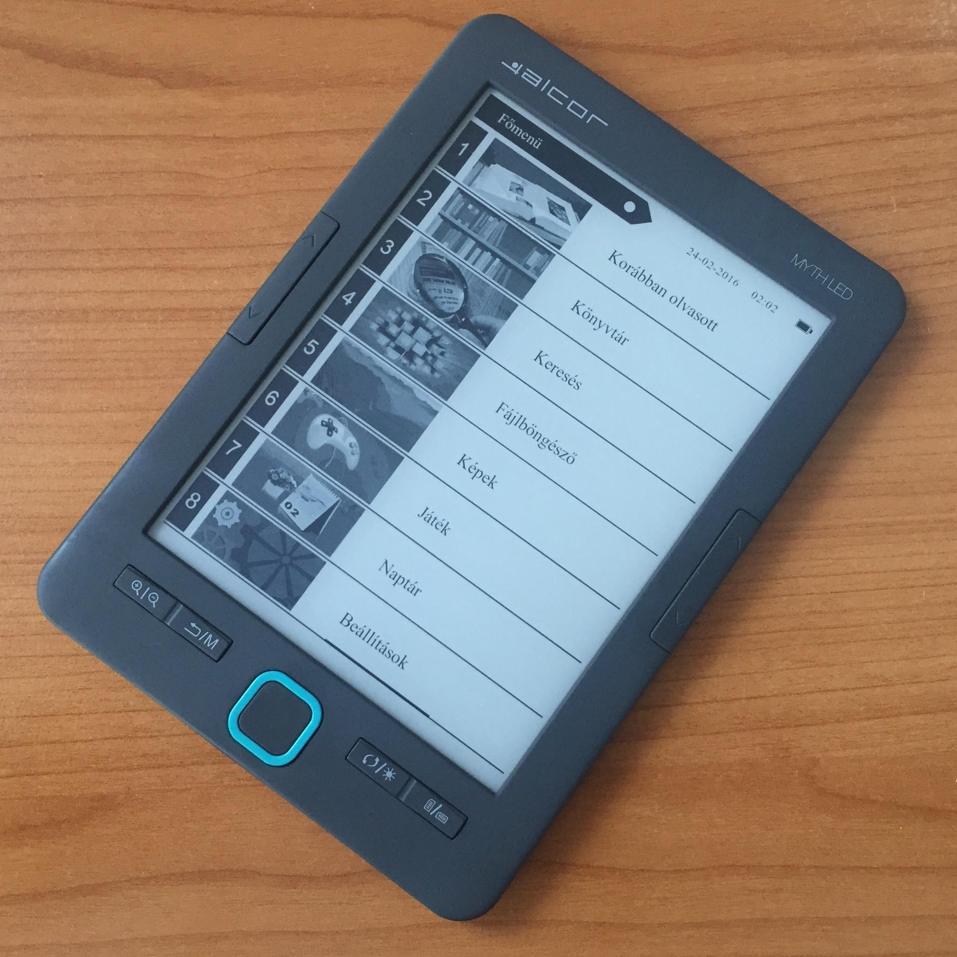 E-book Alcor Myth LED 6