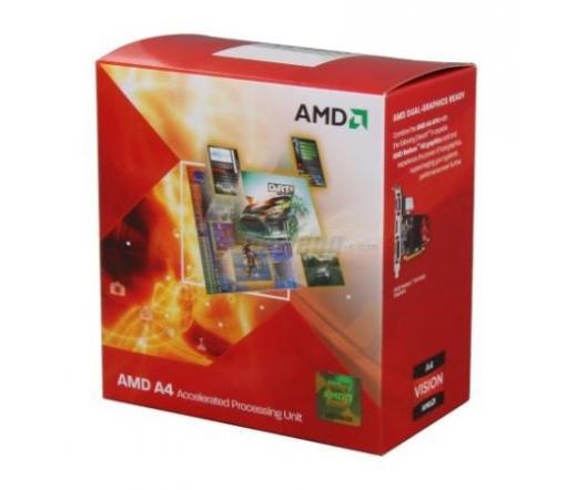 Processzor AMD X2 A4-7300 FM2+ 3,8GHz BOX