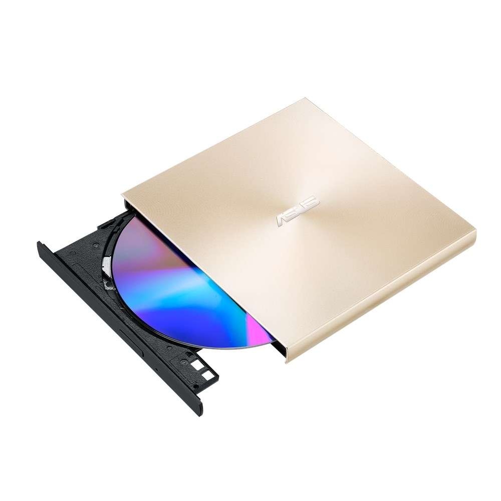 Optikai Meghajtó Asus SDRW-08U9M-U ZenDrive U9M Ultra-slim External DVD Writer Gold