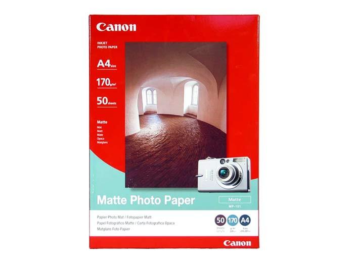 Fotópapír Canon Fotópapír MP101 170gr A/4  50db-os matt