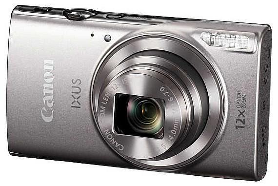 Digitális fényképezőgép Canon Ixus 285 HS Silver