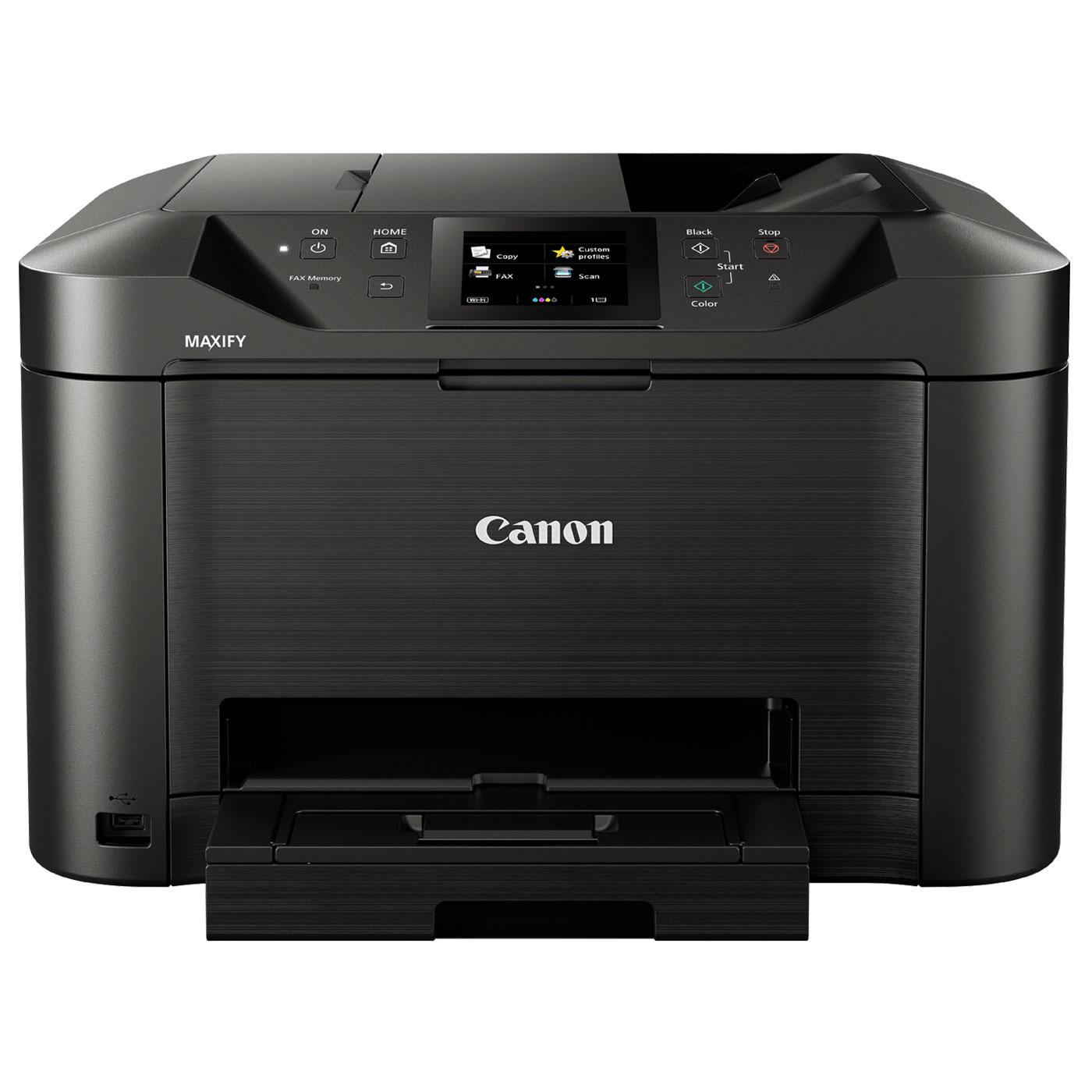 Multifunkciós nyomtató Canon Maxify MB5450 Wireless Tintasugaras Nyomtató/Másoló/Scanner/Fax