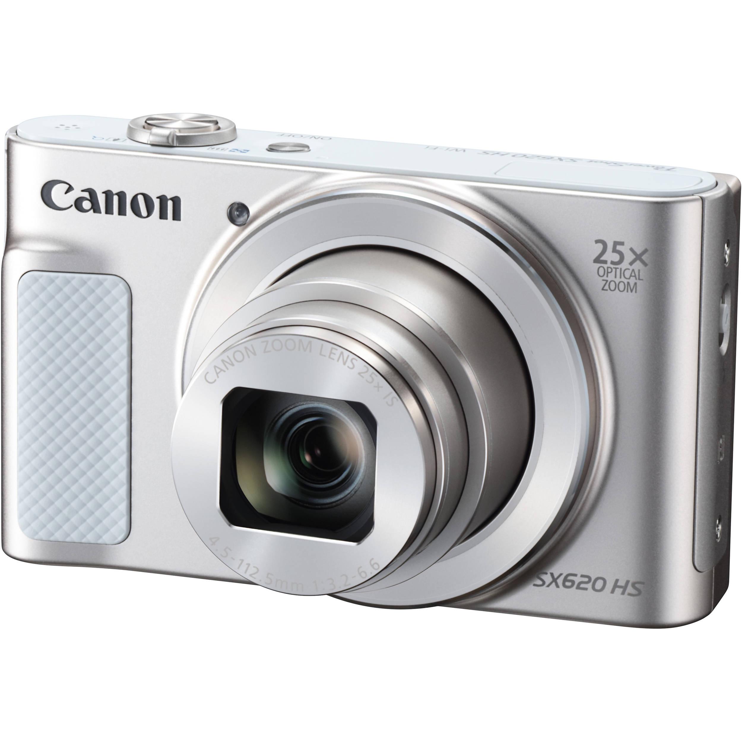Digitális fényképezőgép Canon PowerShot SX620 HS White