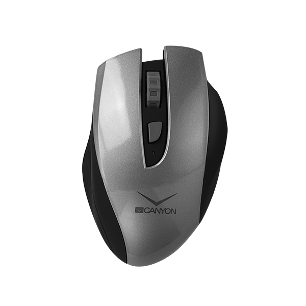 Egér Canyon CNS-CMSW7G Wireless Rechargeable Mouse Black/Grey