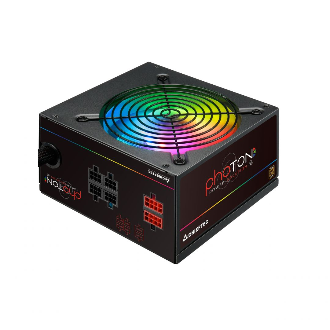 Tápegység Chieftec 650W 85+ Photon RGB