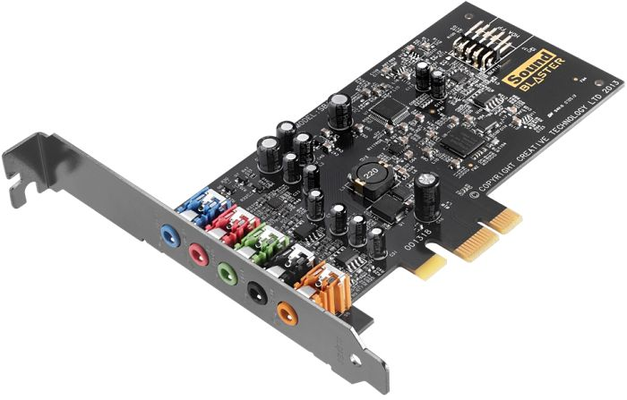 Hangkártya Creative Sound Blaster Audigy Fx 5.1 PCIe Sound Card with SBX Pro Studio