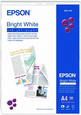 Fotópapír Epson Bright White Ink Jet Paper, DIN A4, 90g/m?, 500 Sheet