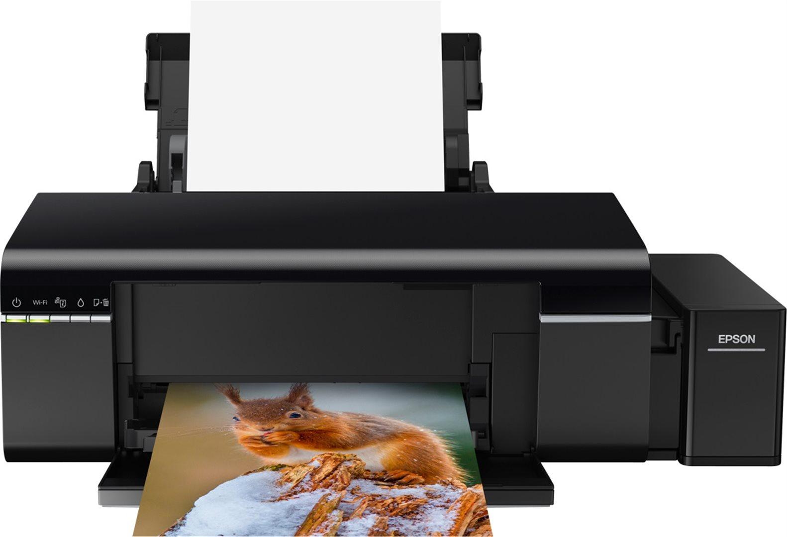 Nyomtató Epson L805 wireless színes tintasugaras nyomtató