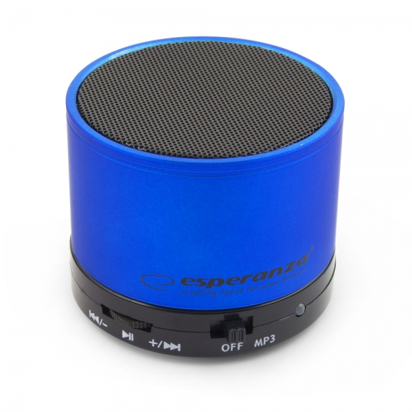 Hangszóró Esperanza Ritmo Bluetooth Speaker Blue