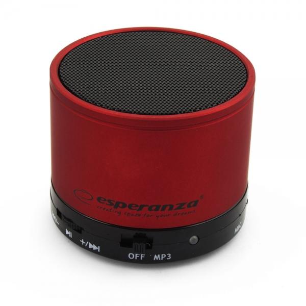 Hangszóró Esperanza Ritmo Bluetooth Speaker Claret