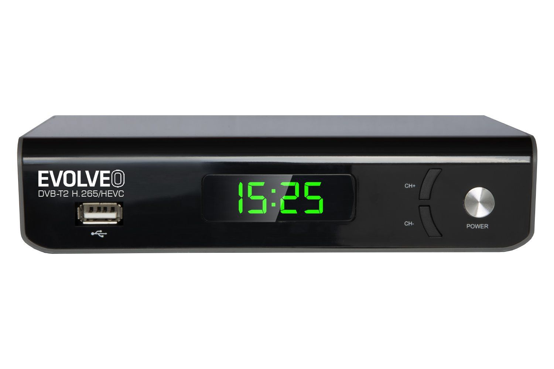 TV Tuner Evolveo Omega II Set-top box Wi-Fi HD DVB-T2 H.265/HEVC Recorder