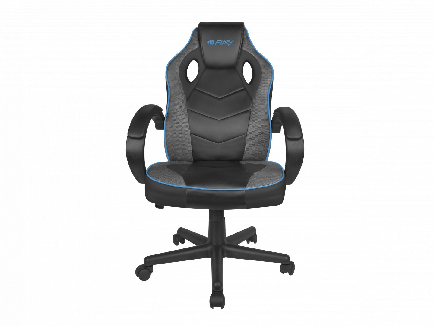 Gaming szék FURY Avenger S Gaming chair Black/Blue