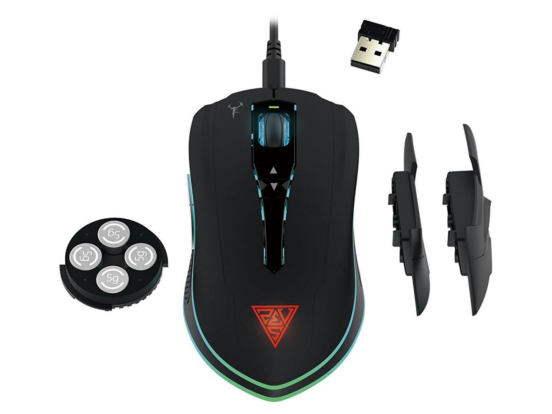 Egér Gamdias Hades M1 Gaming mouse Black