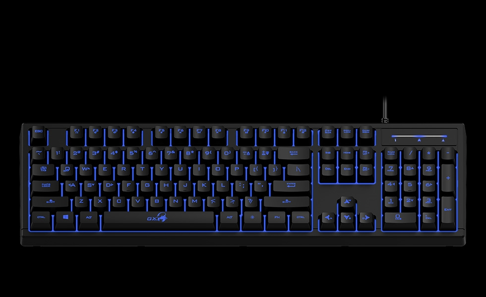 Billentyűzet Genius Scorpion K6 Gaming USB billentyűzet Black HU