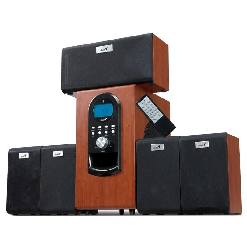Hangszóró Genius SW-HF5.1 6000 II 5.1 hangszóró Dark Cherry
