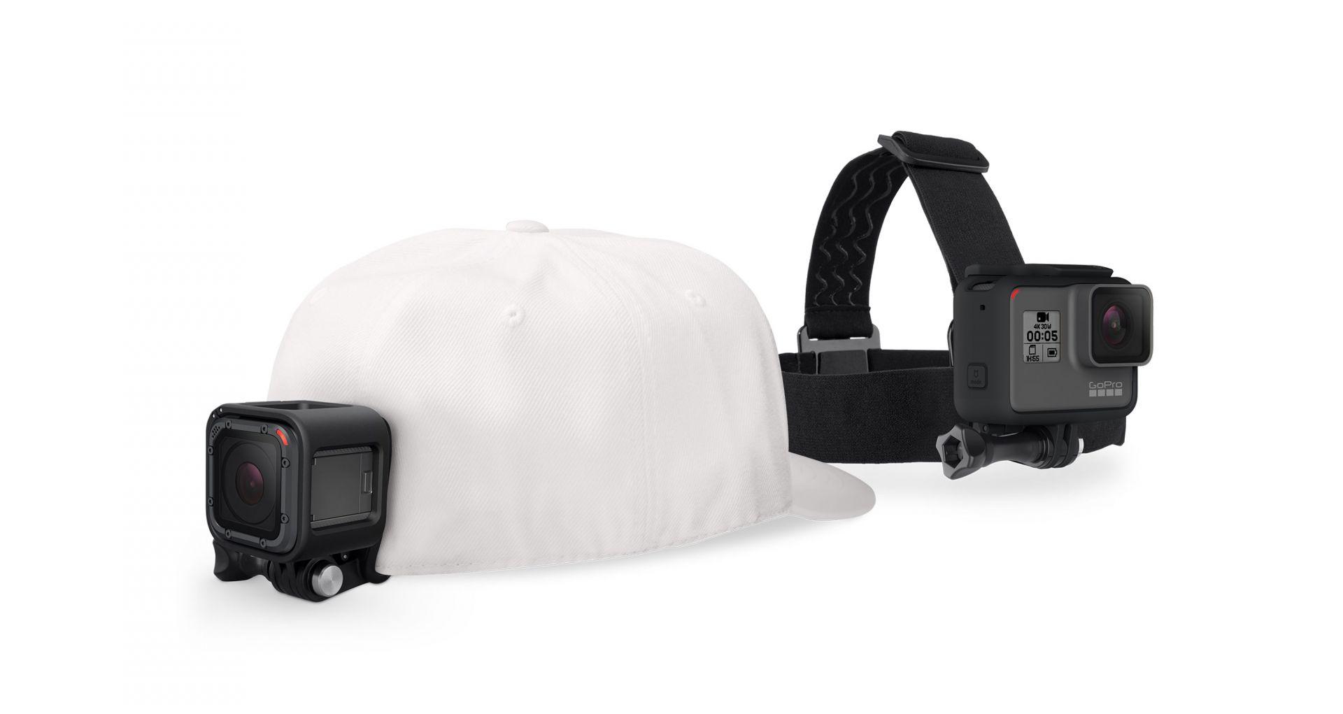 Videokamera GoPro Head Strap + QuickClip