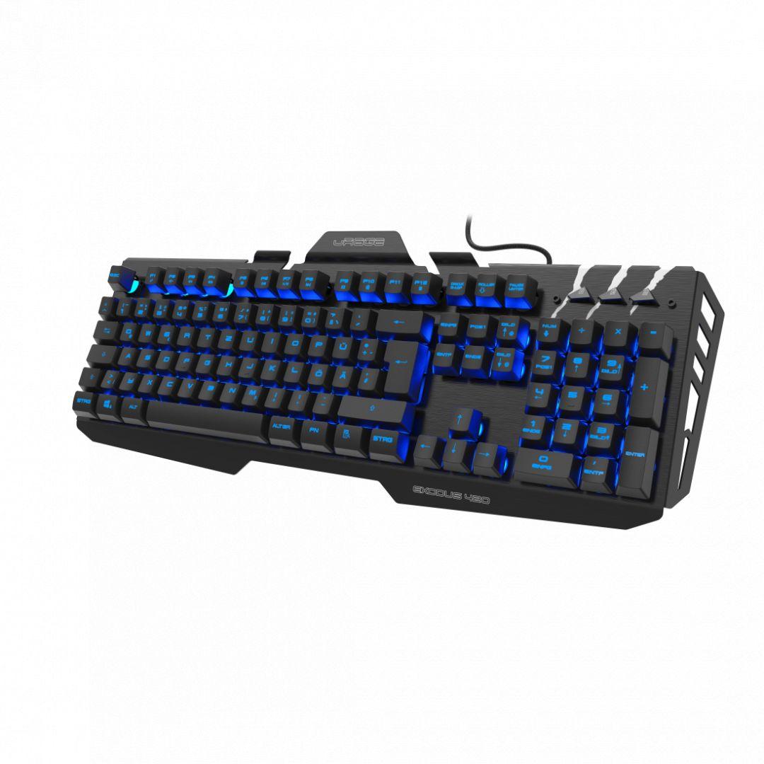 Billentyűzet Hama uRage Exodus 420 CyberBoard Premium Gaming keyboard Black HU