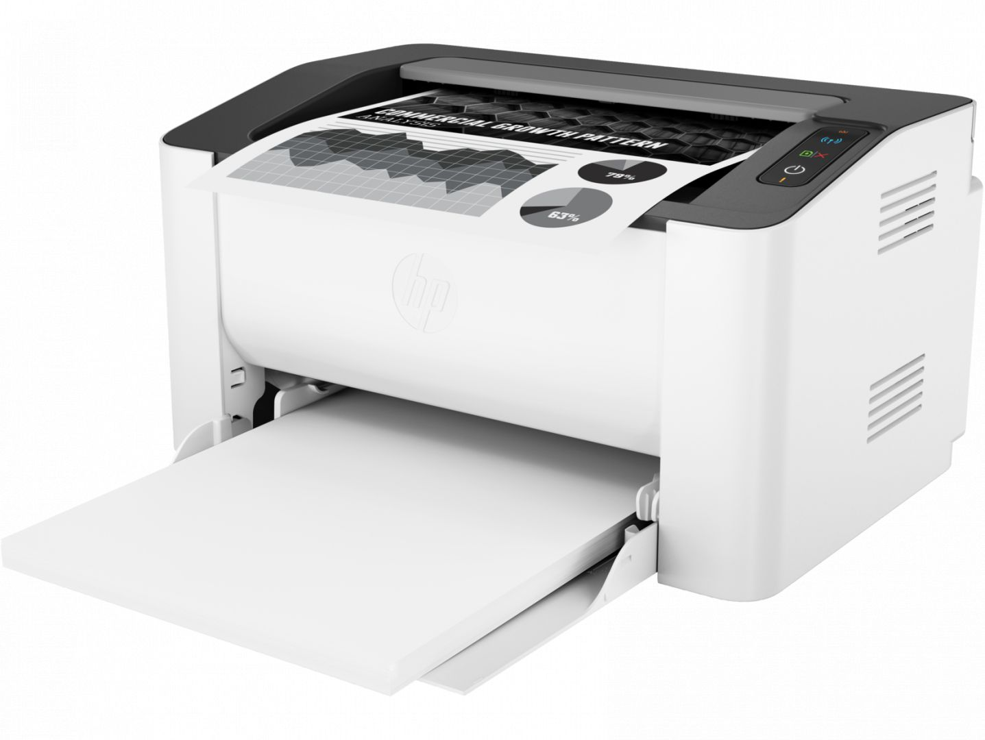 Nyomtató HP Laser 107w (4ZB78A) wireless lézernyomtató
