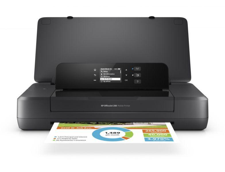 Nyomtató HP Officejet 202 Wireless Mobil Tintasugaras Nyomtató