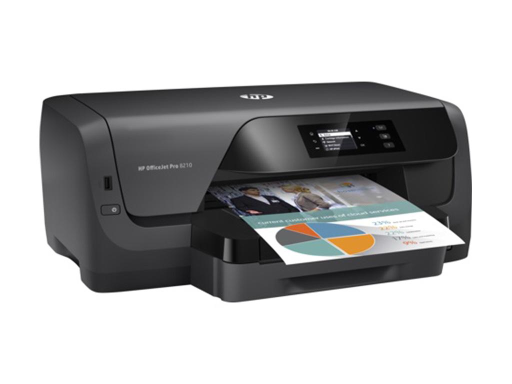 Nyomtató HP OfficeJet Pro 8210 (D9L63A) wireless színes tintasugaras nyomtató
