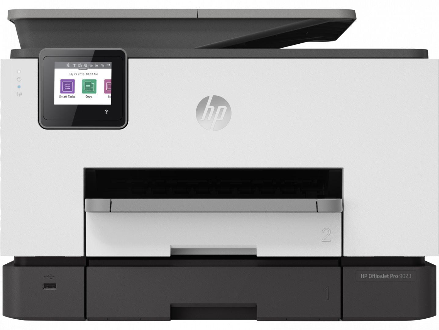 Multifunkciós nyomtató HP Officejet Pro 9023 (1MR70B) wireless tintasugaras nyomtató/másoló/síkágyas scanner/fax