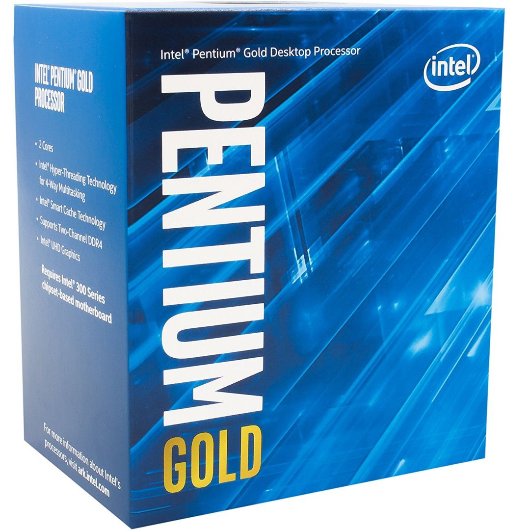 Processzor Intel Pentium Gold G5400 3700MHz 4MB LGA1151 Box