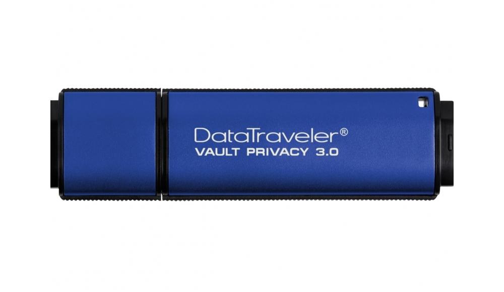 USB Flash RAM Kingston 4GB DTVP30 USB3.0 Blue