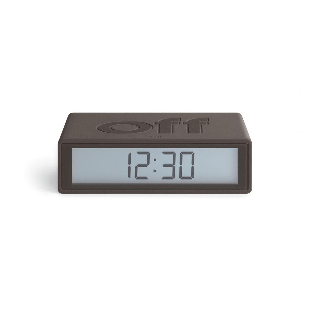 Hi-fi Lexon Flip+ LCD Alarm Clock Black