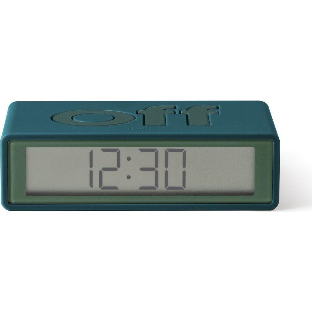 Hi-fi Lexon Flip+ Travel LCD Alarm Clock Duck Blue