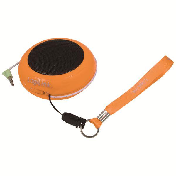Hangszóró Logilink Portable MP3 Speakers Orange