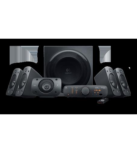 Hangszóró Logitech Z906 THX 5.1 hangszóró Black