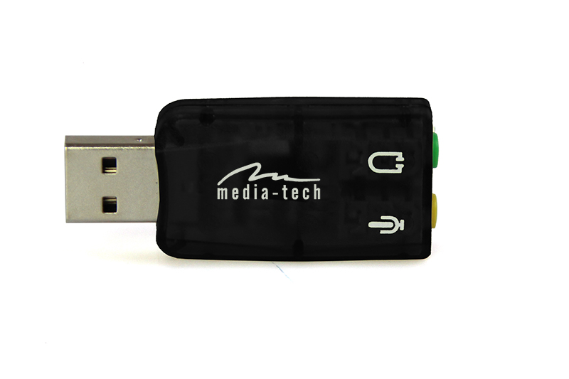 Hangkártya Media-Tech MT5101 Virtu 5.1 USB Hangkártya