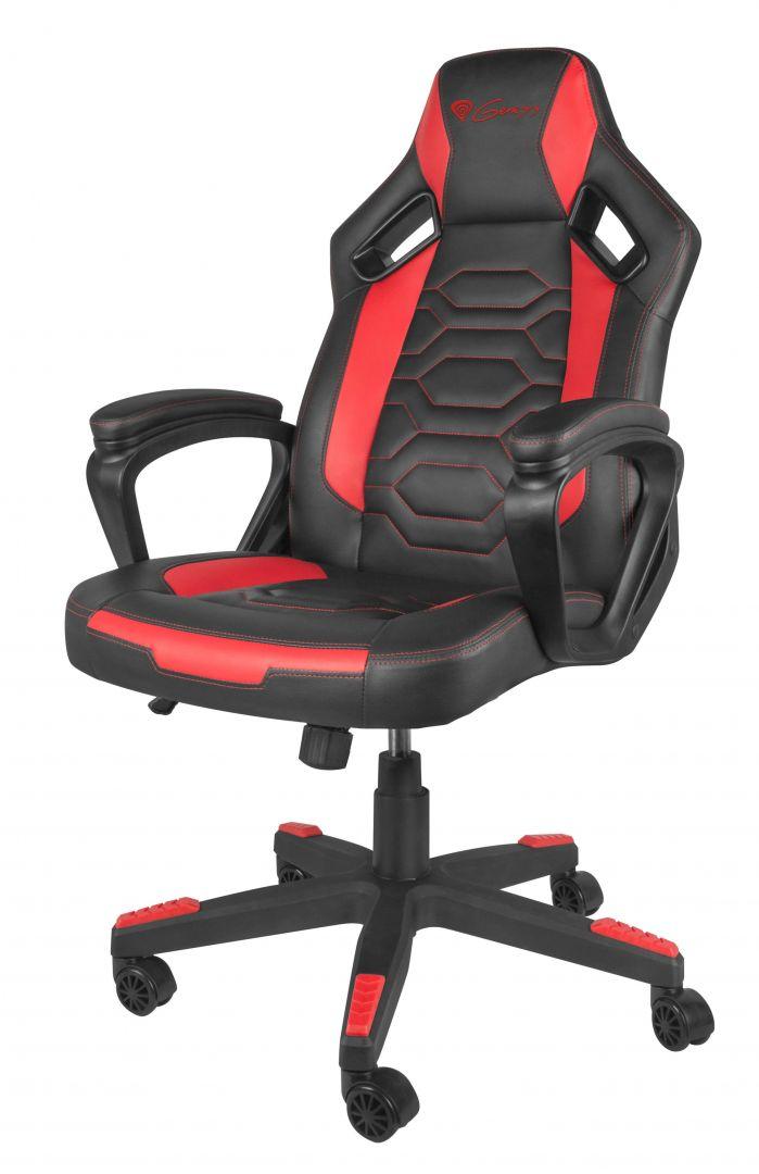Gaming szék Natec Genesis Nitro 370 Gaming Chair Black/Red