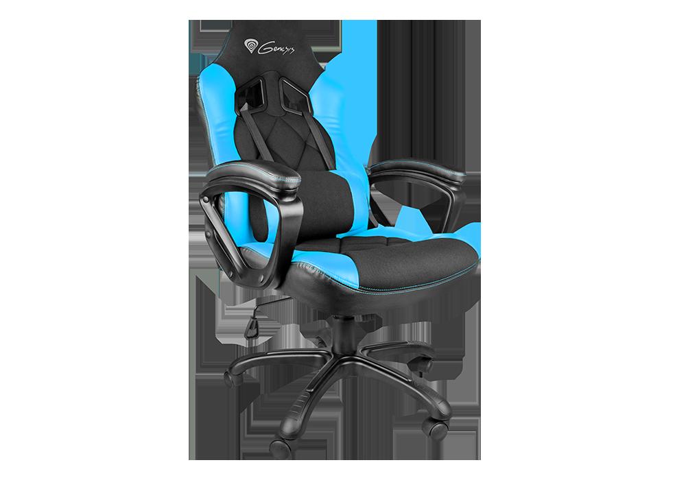 Gaming szék Natec Genesis SX33 Gaming Chair Black/Blue