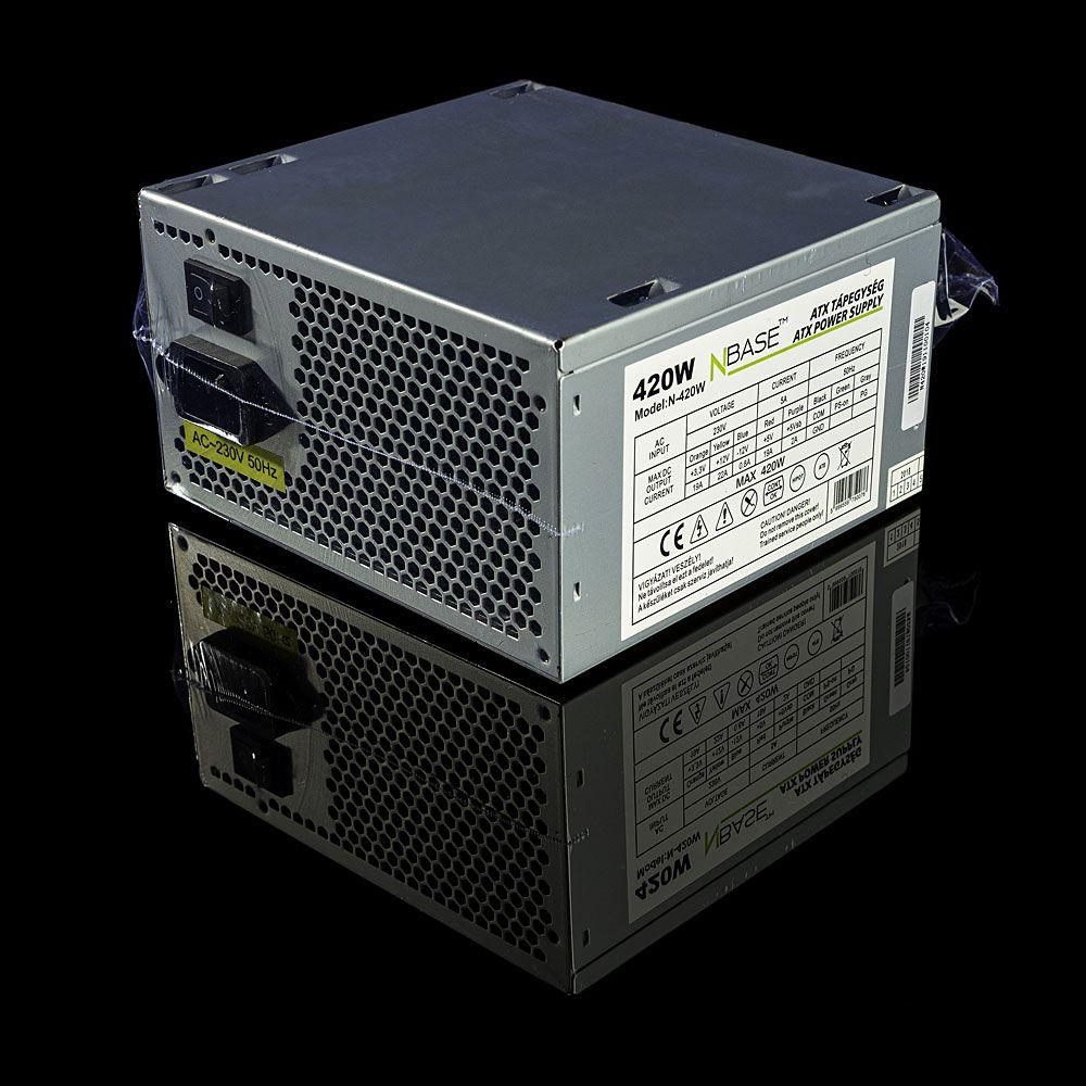 Tápegység nBase 420W N420 v1.0 OEM