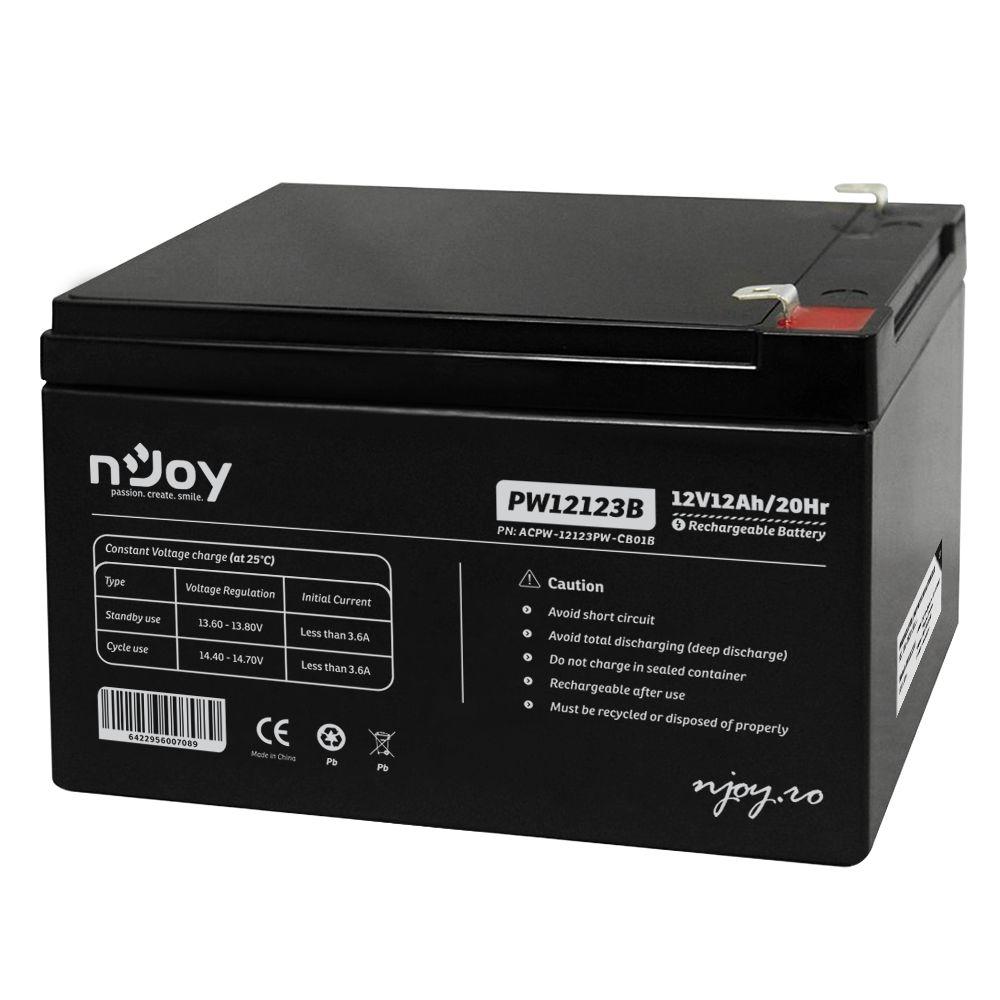 Szünetmentes Tápegység Njoy PW12123B Szünetmentes akkumulátor