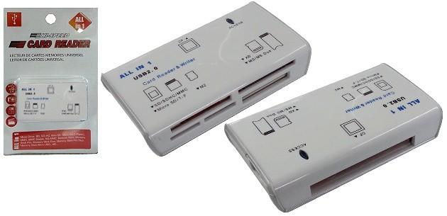Kártyaolvasó Noname USB 2.0 High Speed All In One kártyaolvasó