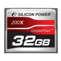 Memóriakártya Silicon Power 32GB Compact Flash 200x