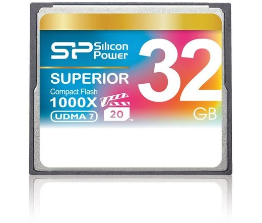Memóriakártya Silicon Power 32GB Superior CF 1000x