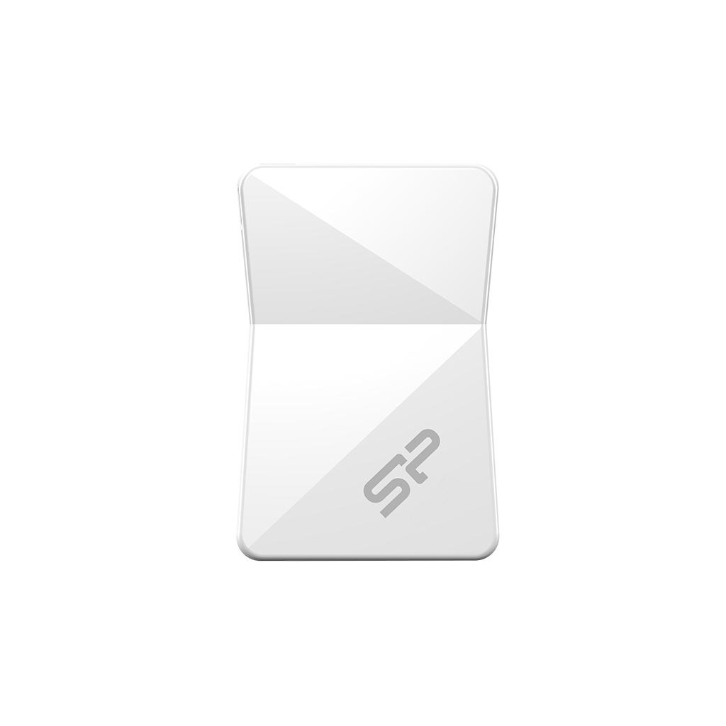 USB Flash RAM Silicon Power 32GB Touch T08 White