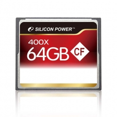 Memóriakártya Silicon Power 64GB Compact Flash 400x
