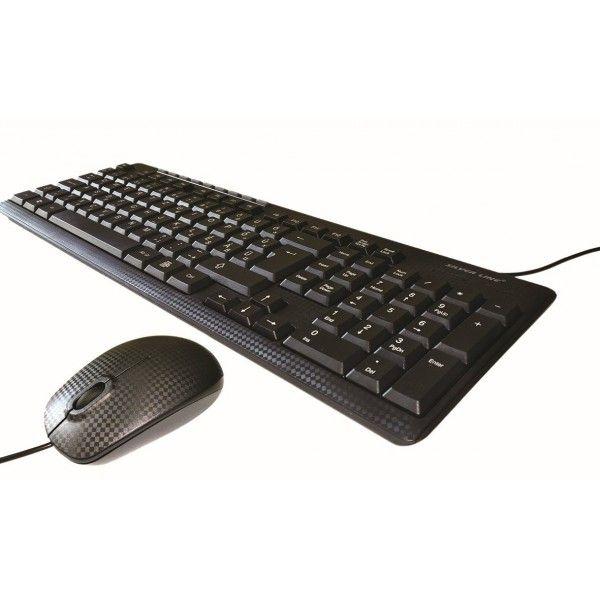 Billentyűzet Silverline MMS-8188 billentyűzet + egér Black HU