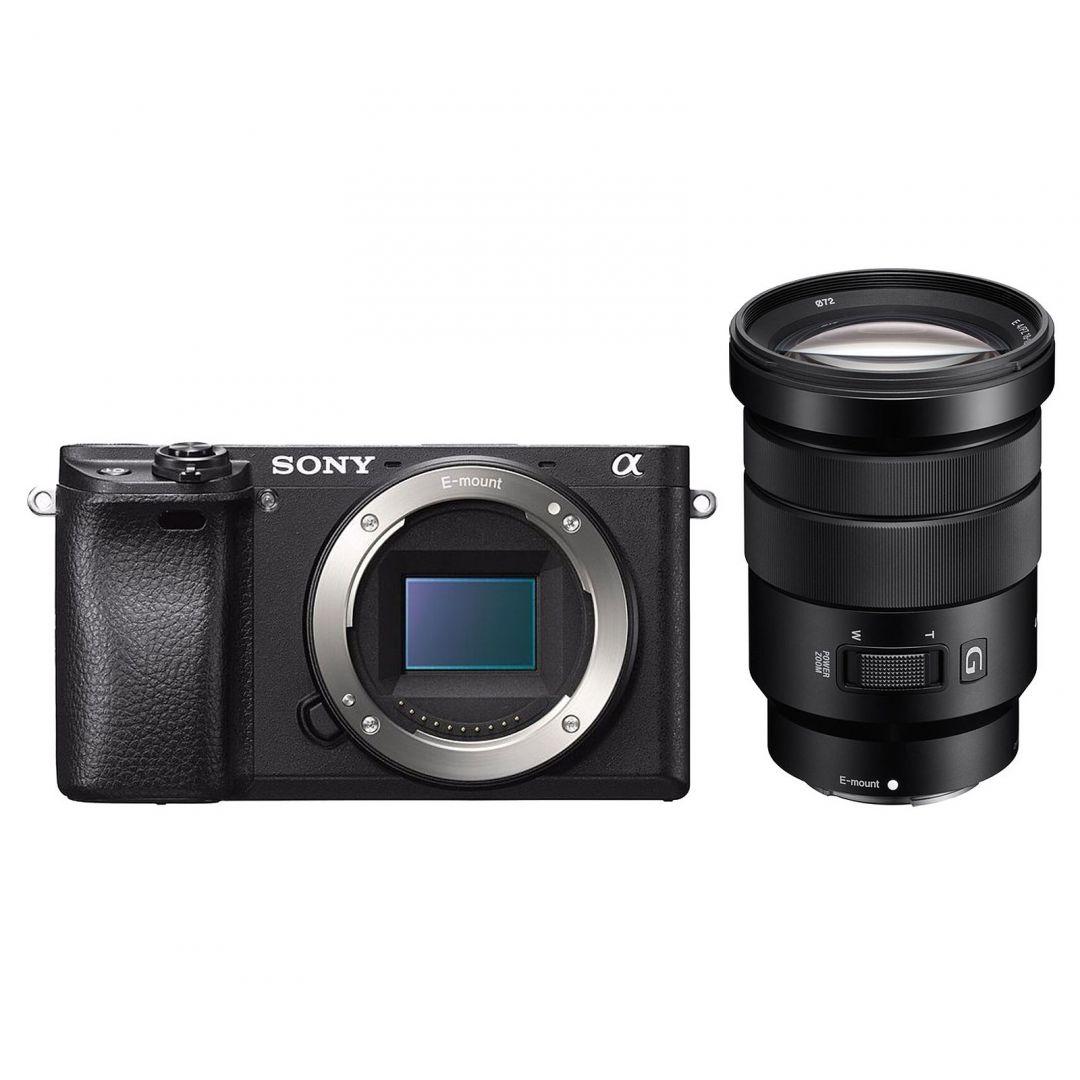Digitális fényképezőgép Sony Alpha 6300 + 18-105mm Kit Black