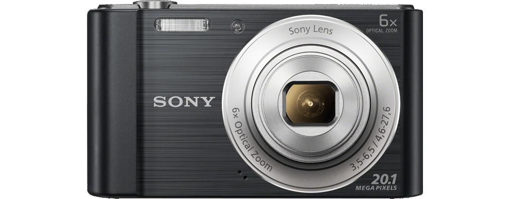 Digitális fényképezőgép Sony CyberShot DSC-W810 Black