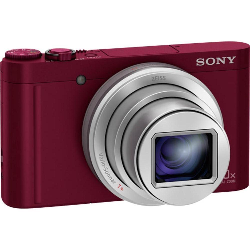 Digitális fényképezőgép Sony CyberShot DSC-WX500 Red