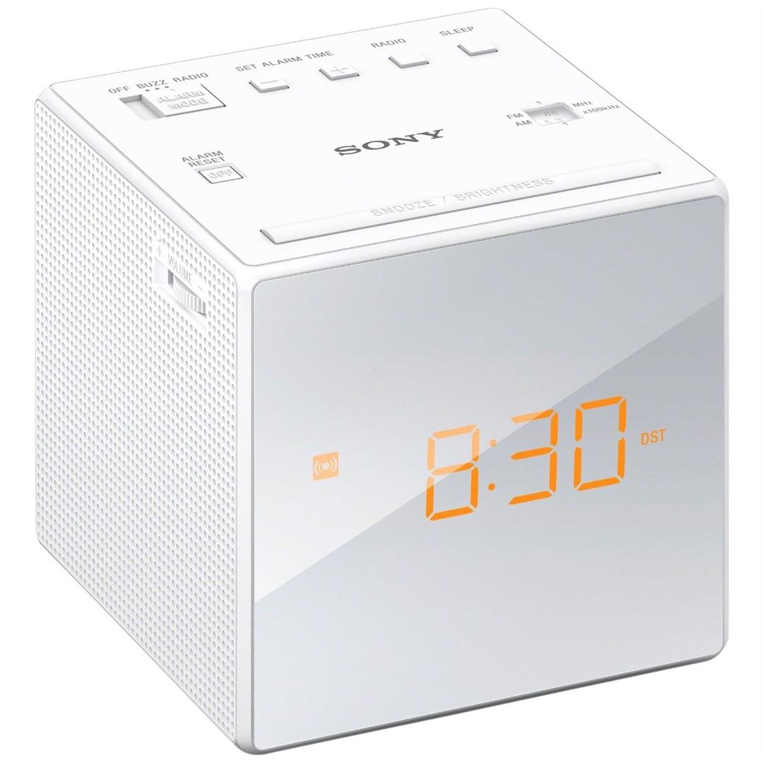Hi-fi Sony ICF-C1W Rádió White