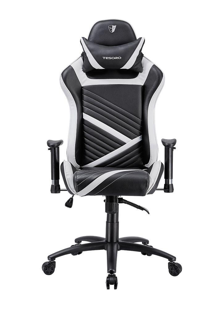 Gaming szék Tesoro Zone Speed Gaming chair Black/White