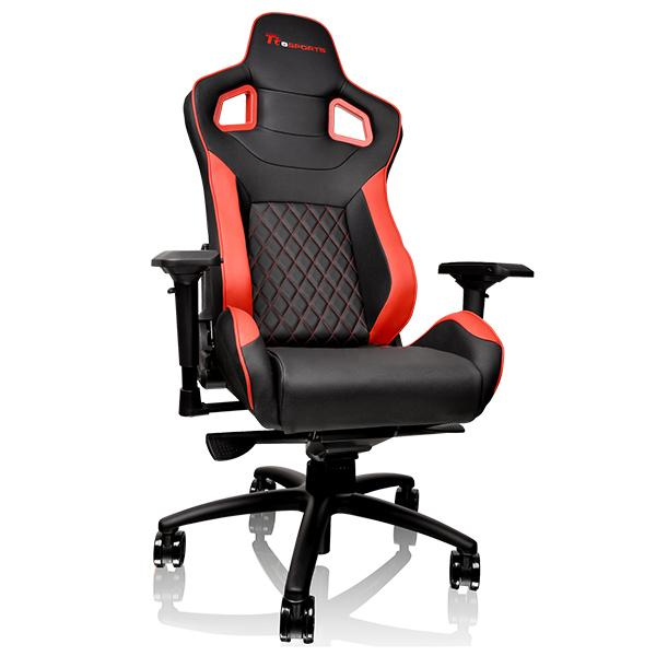 Gaming szék Thermaltake TT eSports GT Fit 100 Gaming Chair Black/Red