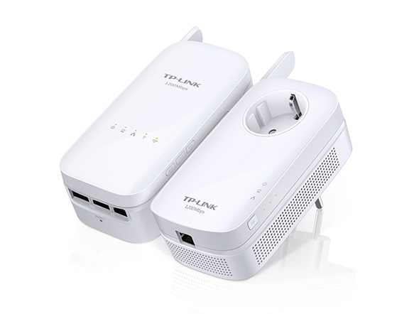 Hálókártya TP-Link TL-WPA8630KIT AV1200 Gigabit Powerline ac Wi-Fi Kit